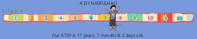 Lilypie Kids Birthday (2YOu)
