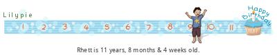Lilypie Kids Birthday (8O3u)