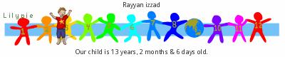 Lilypie Kids Birthday (9MXr)