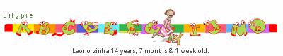 Lilypie Kids Birthday (MUpP)