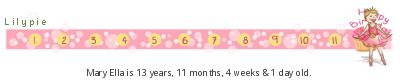 Lilypie Kids Birthday (R8xw)