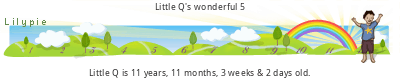 How old is Little Q?