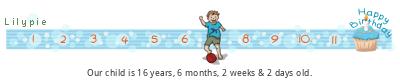 Lilypie Kids Birthday (hTSL)