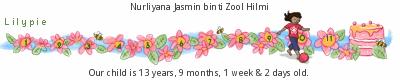 Lilypie Kids Birthday (q6Cw)