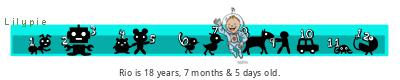 Lilypie Kids Birthday (sg2B)