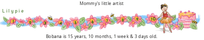 Lilypie Sixth Birthday tickers