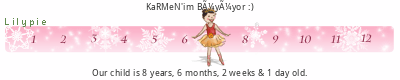 Lilypie Kids Birthday (7ezv)